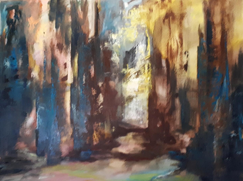 Brigitte Krief - SOUS-BOIS 1   73 x 92 cm