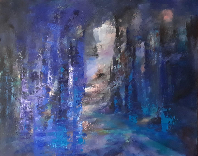 Brigitte Krief - SOUS-BOIS 2 81 x 100 cm