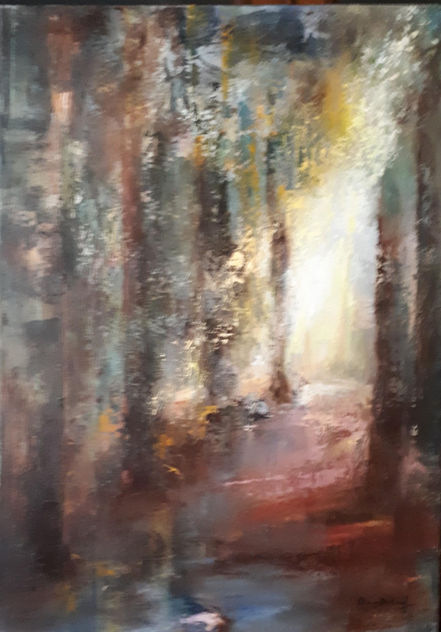 Brigitte Krief - SOUS-BOIS 10  50 x 70 cm
