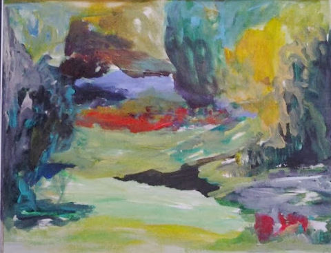 brigitte KRIEF - CORDELLE 2 vue du jardin